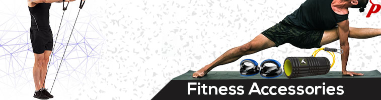 Buy - Sports training accessories like, Balance board, Foam roller, Pushup stand, Massage Twister, Resistance tube at The Pavilion.