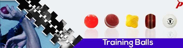 Complete range of sports training balls - Swing ball, reaction ball, poly coated ball, Bowlers wonder ball, wind ball, turf ball & soft ball. Exercise, seam ball, cricket, hockey, spong ball.