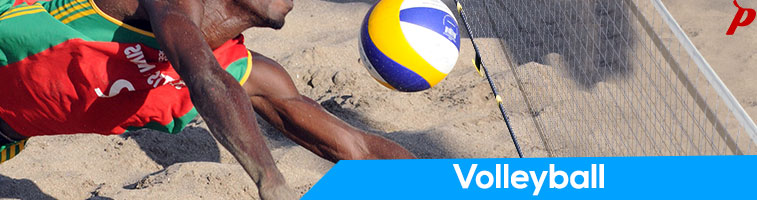Purchase good quality professional standard volley ball, volley ball nets and volley ball knee caps in brands like Cosco and Vector X at pavilionsports.com.