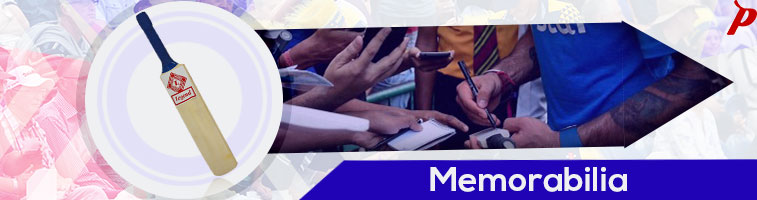 Buy - Memorabilia, Mini autograph bats at affordable price in India on pavilionsports.com. Mini cricket bats made specifically for autograph. Popular, latest, best, sale.