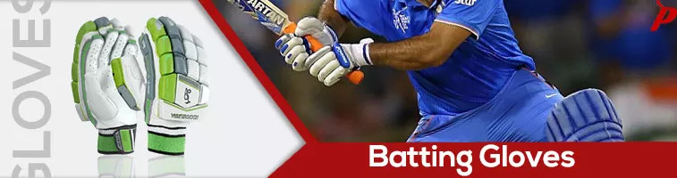 Buy batting cricket gloves from the brands like SG, SS, RNS, GN and GM. Widest range of lightweight leather and cotton gloves.