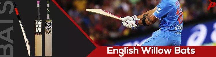 Buy best quality widest range of cricket bats english willow from brands SG, MRF, SS, RNS, Kookaburra, Adidas, Slazenger, GM, Gray Nicolls, BDM, Spartan, SM