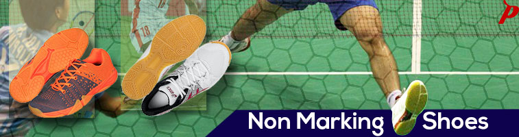 Buy - The best selection of non marking shoes, includes badminton shoes, squash shoes, table tennis shoes, tennis shoes, volleyball shoes, football boot, and basketball shoes. Brands like Yonex, Adidas, Legend, Pro ASE & Vector X. Synthetic, leather, lightweight, quality, latest, India, chennai.